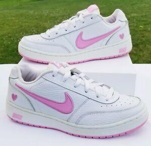 Vegetación mármol demanda  Nike 2005 Rosa Y Blanco Zapatillas De Cuero, Para Mujer Talla 8   eBay