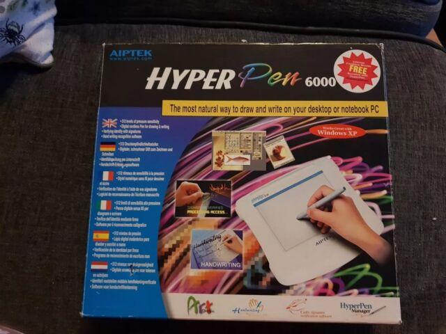 AIPTEK HYPERPEN AHP6000 TREIBER WINDOWS 7