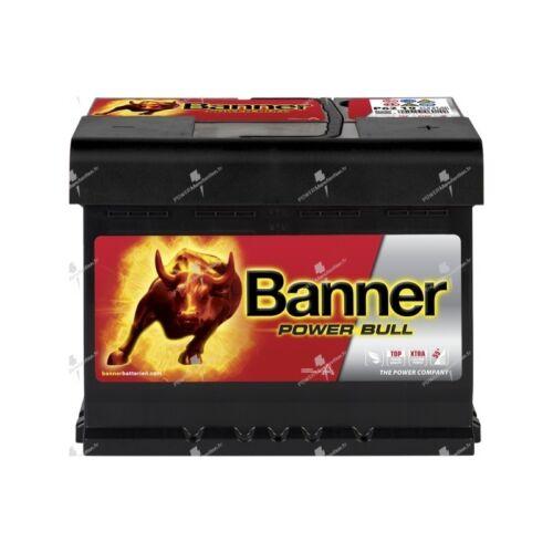 Autobatterie Banner Leistung Bull P6219 12v 62ah 550A 241x175x190mm