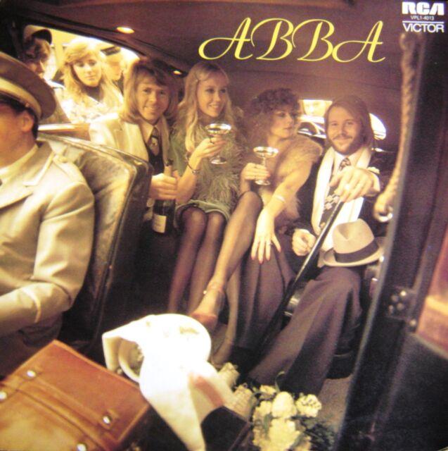 ABBA-Self Titled-LP-1975 RCA Victor Original Australian issue–VPL1-4013