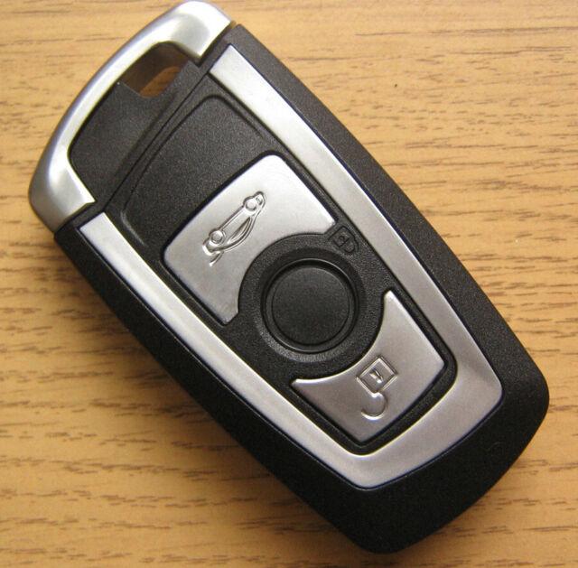 Coque Clé Plip Telecommande 3B pour BMW F10 F20 F30 F40 3 4 5 GT Serie X1 X3