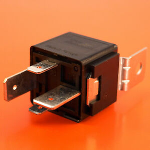 Automotive Relay 12V 70Amp 4 Pin Normally Open Bracket Genuine - Automotive Relay Normally Open
