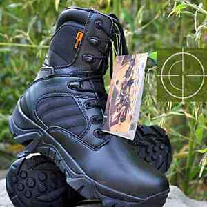 Sale Men Outdoor Army Climbing Boots Tactical Combat Hunting Lightweight Shoes