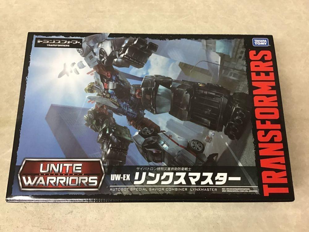 Takara Tomy Transformers unir guerreros UW-EX Lynx Master Figura de Acción Japón