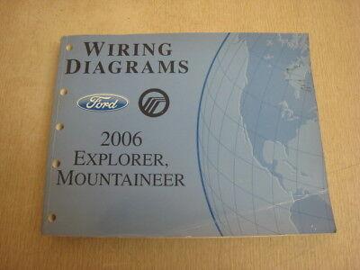 2006 Ford Explorer, Mountaineer Wiring Diagrams OEM MANUAL ...