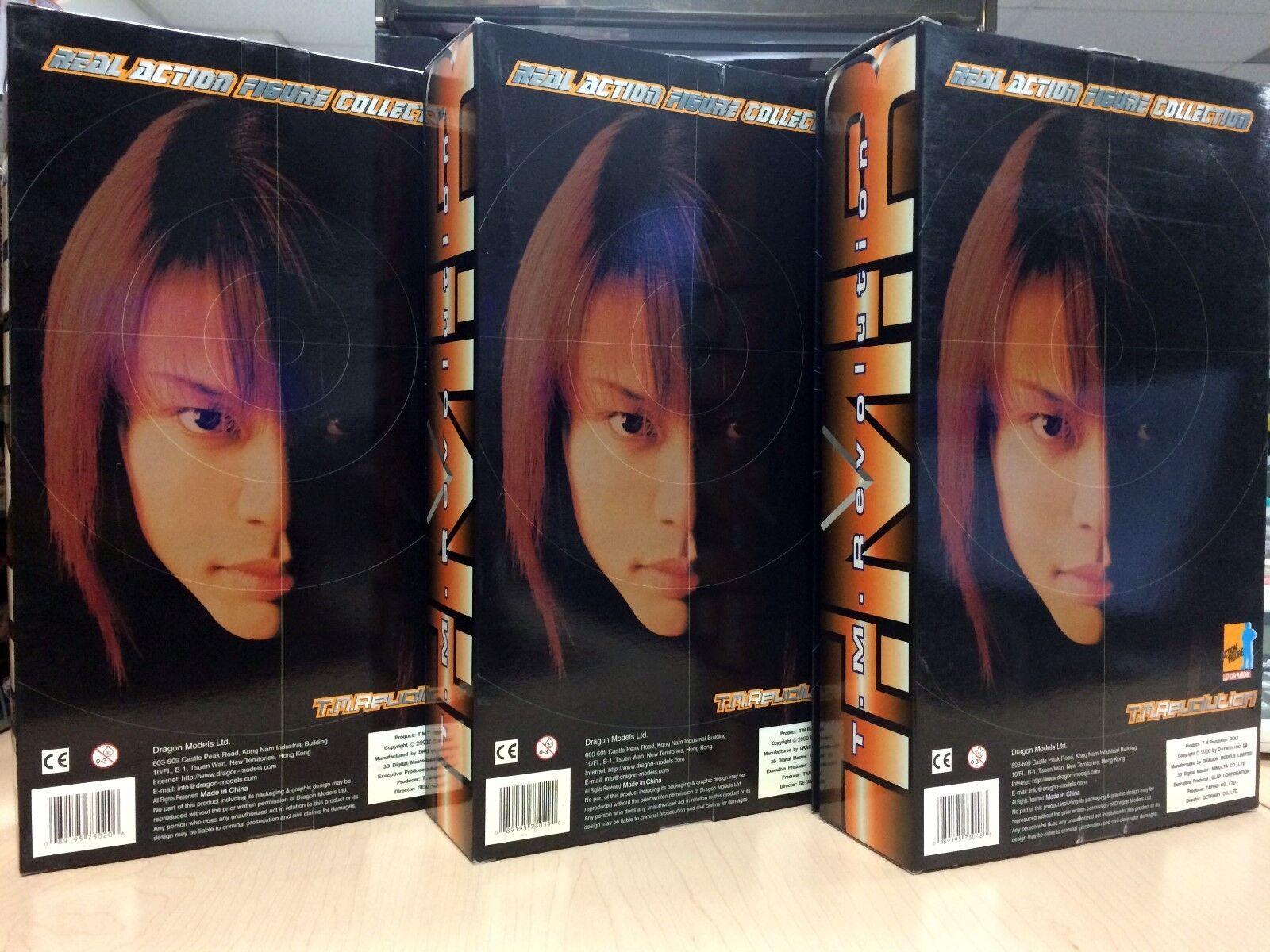 DRAGON 1 6 T.M.Revolution Takanori Nishikawa 3 cifras Japan Exclusive Exclusive Exclusive RARE MIB 79355b