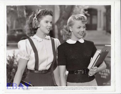 Shirley Temple Jean Porter That Hagen Girl VINTAGE Photo