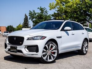 2017 Jaguar F-Pace Loaded S with 22's Remote Start App