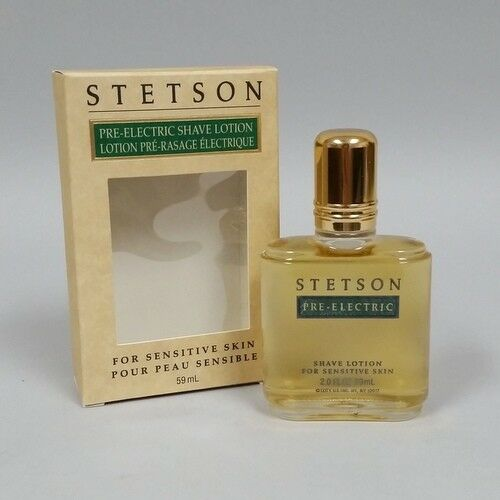 Stetson Pre Electric Shave Splash Lotion For Sensitive Skin 2 Oz By