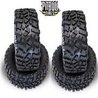 Pit Bull Rock Beast Xl Scale 3.8 Rock Crawler Tires Zuper Duper (4) Yeti Xl on Sale