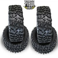 Pit Bull Rock Beast Xl Scale 3.8 Rock Crawler Tires Zuper Duper (4) Yeti Xl