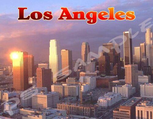 LOS ANGELES #2 Calif Travel Souvenir Flexible Fridge Magnet