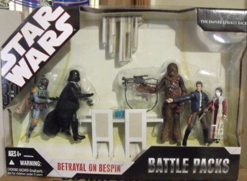 Star Wars Battle Pack Betrayal On Bespin New Sealed