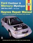 Ford Contour and Mercury Mystique Automotive Repair Manual: 1995-2000 by J. H. Haynes, Mark Jacobs (Paperback, 2001)