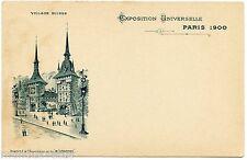 EXPOSITION DE 1900 . PARIS . VILLAGE SUISSE . EXHIBITION 1900.  BéNéDICTINE.