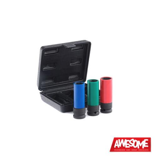 3 Piezas es6225 Ecs Tuning Schwaben Protecta Socket Kit