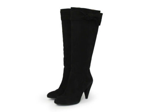 Heels Schwarz High Veloursleder Alexandra 39 Top Stiefel Feminin Collezione Gr wqvgg7t