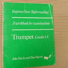 trumpet IMPROVE YOUR SIGHT READING Grades 1-5, John Davies, Paul Harris