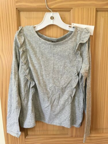 NWT Gymboree Gray Tee T Shirt Top Girls Outlet soft