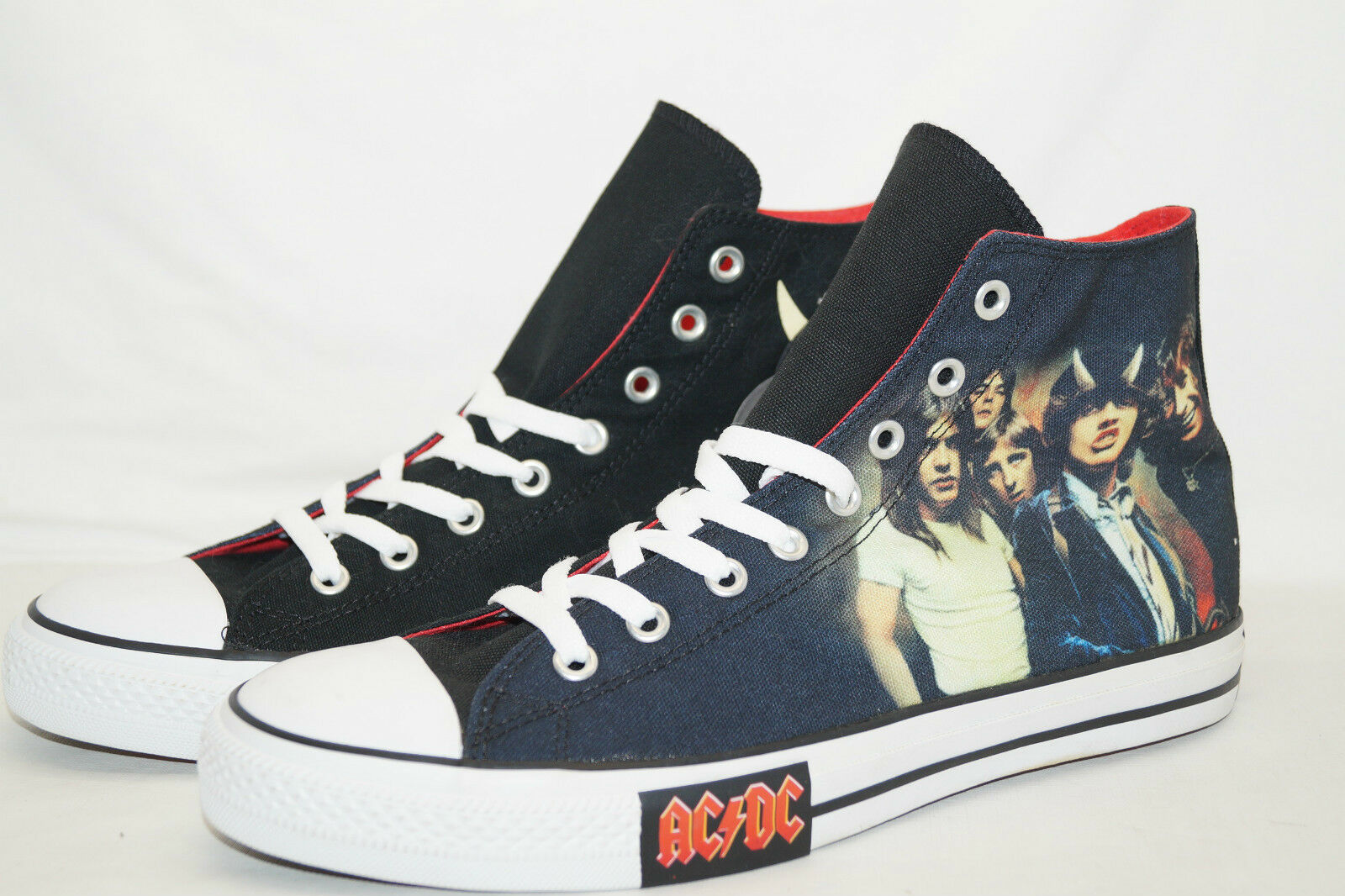 Converse Chucks All Star Star Star High TG 45 AC DC Highway To Hell 111073 di 2008 3813af