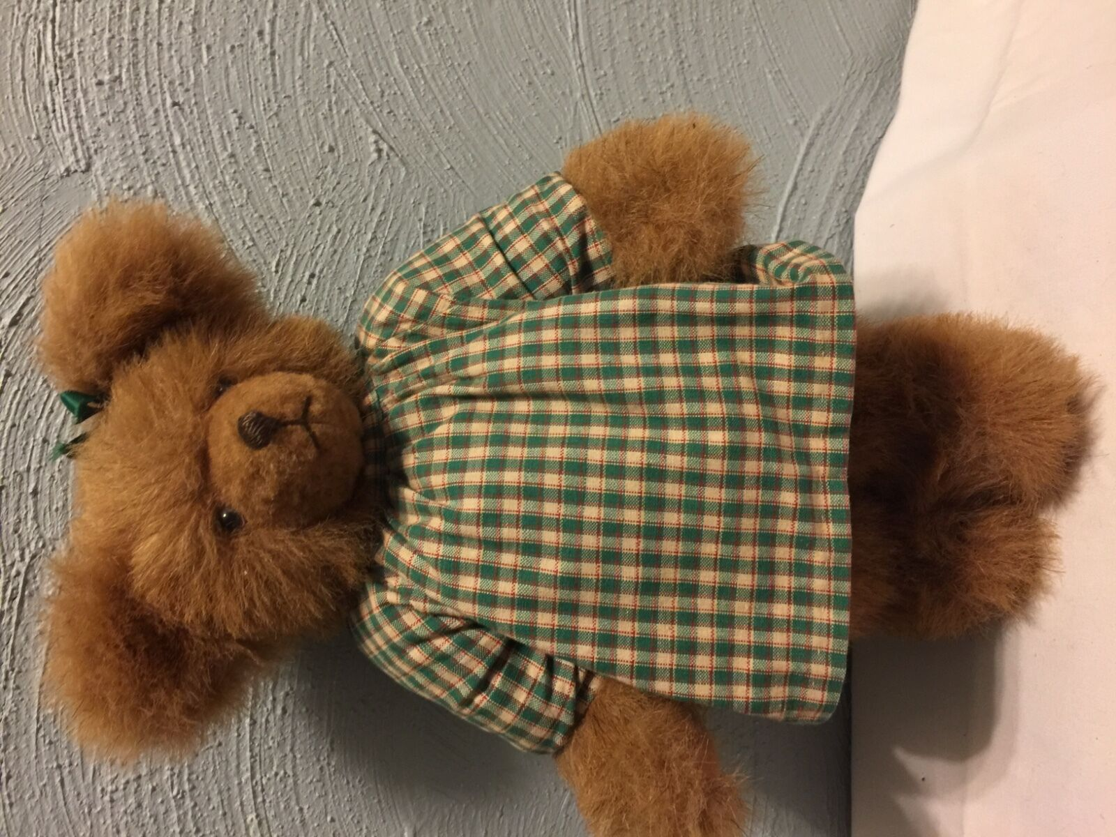 Joyce Reichard Artist Mohair bear Bear By Joyce Handmade Marronee Bear Amazing