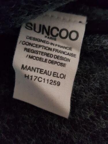 Taille Paris Suncoo t2 M £ Manteau Femme Eloi Bnwt Rrp Manteau 227 Pour x0XaaUg