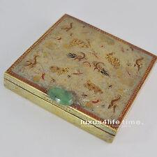 "Cartier Puderdose Powder Box, ""INDIAN"" Series Motiv 1930ties, Jade - luxus4life"