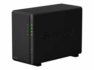 Synology DS218play 2-Bay Nas Bundel Incl. Ironwolf Seagate Nas HDD Ironwolf