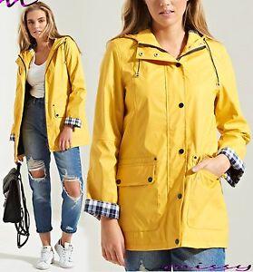 WATERPROOF COAT Festival Rain Mac Ladies coat Womens Jacket Size 8 ...