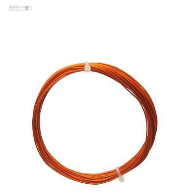0,24€//m 10m Litze orange einadrig flexibel 0,14mm²