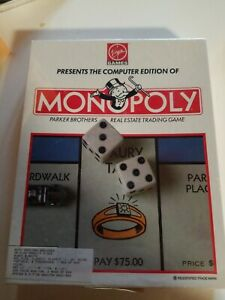 VIRGIN-Games-Vintage-Monopoly-computer-Edition-Game-1991