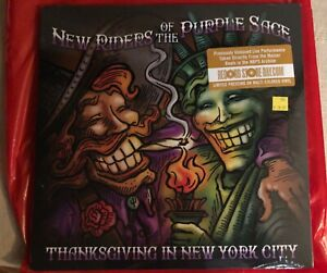 NEW-RIDERS-OF-THE-PURPLE-SAGE-Thanksgiving-in-New-York-City-3x-VINYL-LP-RECORD