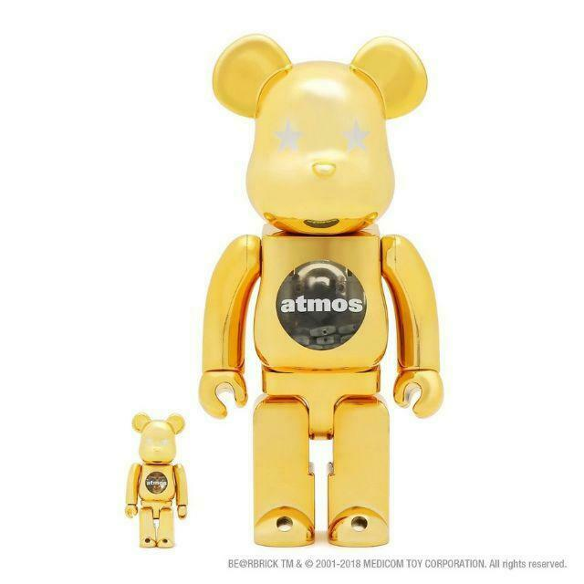 100 400 Atmos Be Rbrick gold Chrome