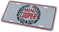 Mini Cooper Tag - Embossed Metal License Plate 6 X 12