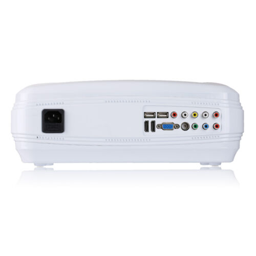 UHAPPY Mini Video Projector 1080P LED HD Home Theater Cinema Projector