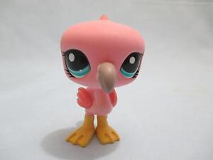 Littlest-Pet-Shop-Bird-Flamingo-1023-Authentic-Lps