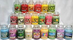 RARE-YANKEE-CANDLE-22oz-LARGE-JAR-Variety-RETIRED-LE-COLLECTOR-Scents-U-Pick