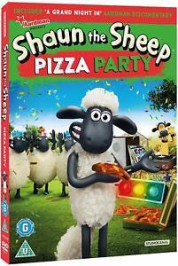 Shaun The Sheep Pizza Festa (2017) DVD Nuovo/Sigillato