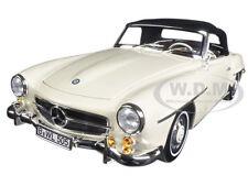 1957 MERCEDES 190 SL BEIGE 1/18 DIECAST MODEL CAR BY NOREV 183539