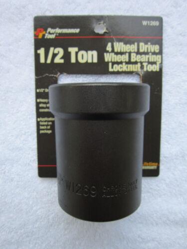 1//2 Ton 4 Wheel Drive Wheel Bearing Locknut Tool Part W1269 Performance Tool