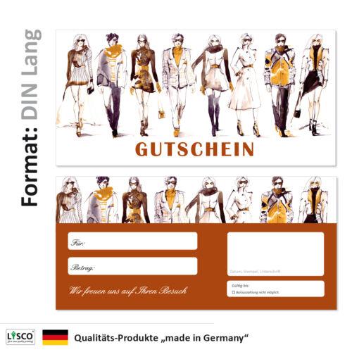 Gutscheine Einzelhandel Leder Brillen Shopping Mode-704 100 Geschenkgutscheine