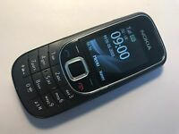 Nokia 2323 classic - Black (Unlocked) Mobile Phone 2323c -Fully Working & Tested