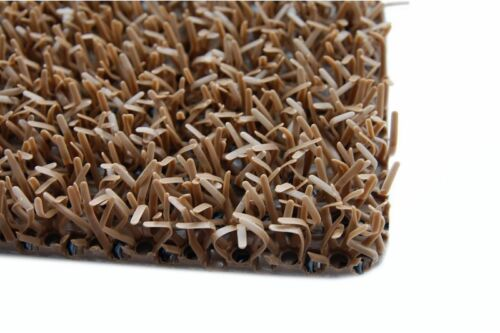 "Door mats width 91 cm Wipers under the shoes /""ASTROFURF/"" COCO BROWN any size"