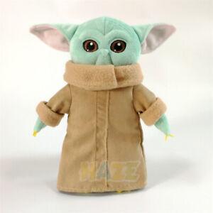 Star-Wars-The-Force-Awakens-Baby-Yoda-Soft-Plush-Doll-Toy-10-12-034-Kids-Gift