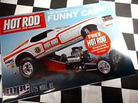 Mpc 1:25 Scale Ford Mustang Funny Car Plastic Model Kit