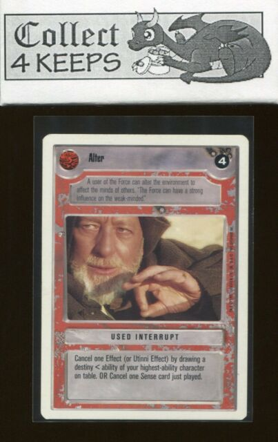 Star Wars CCG BB Premiere Limited Boosted TIE Cannon NrMint-MINT SWCCG