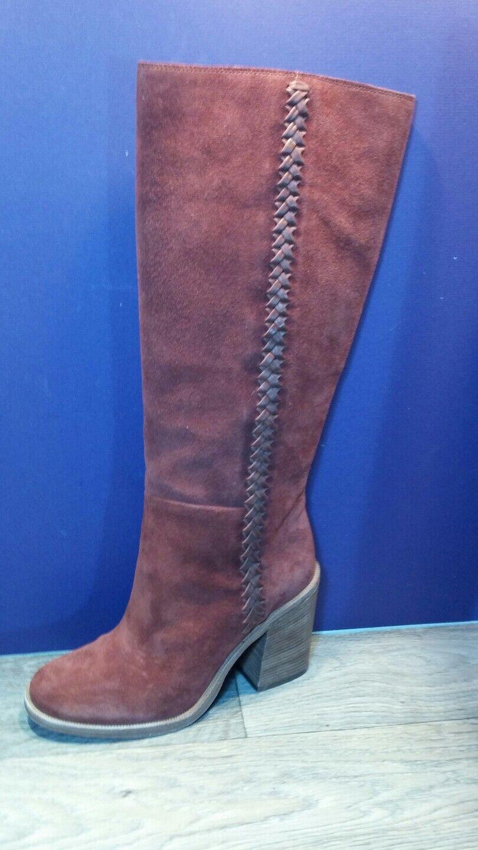 a038b3efd74 UGG Australia Maeva 1018941 Tall Brown Leather BOOTS Size 7.5