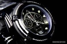 Invicta Reserve Jason Taylor JT Bolt Zeus Black Swiss Chronograph Watch LE New