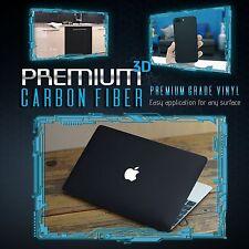 3d Black Carbon Fiber Matte Vinyl Wrap Sticker Decal Film Sheet Air Bubble Free