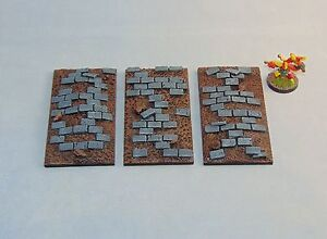 Resin-50X100mm-Chariot-base-X1-Paved-by-Daemonscape-Unpainted